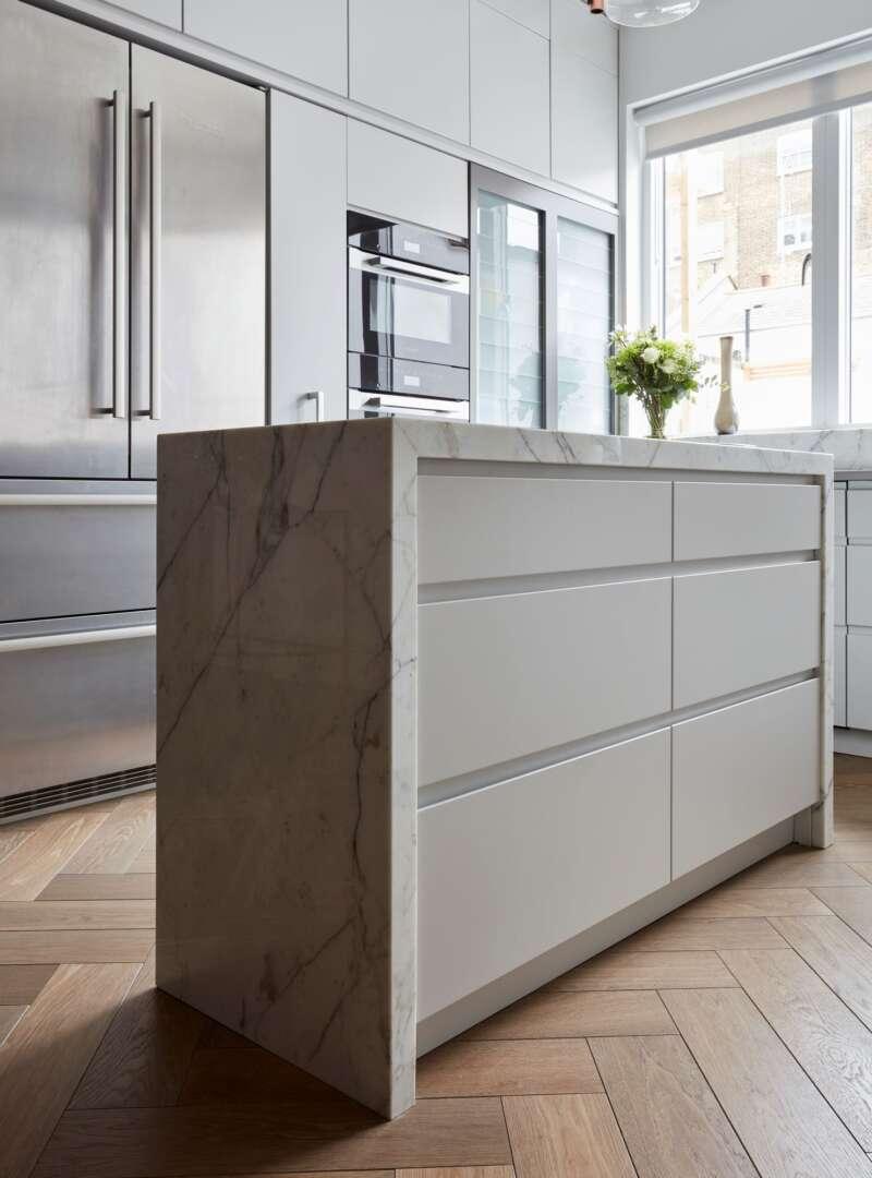 TREDEGAR herringbone kitchen