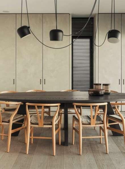 LONDON BROMPTON dining room