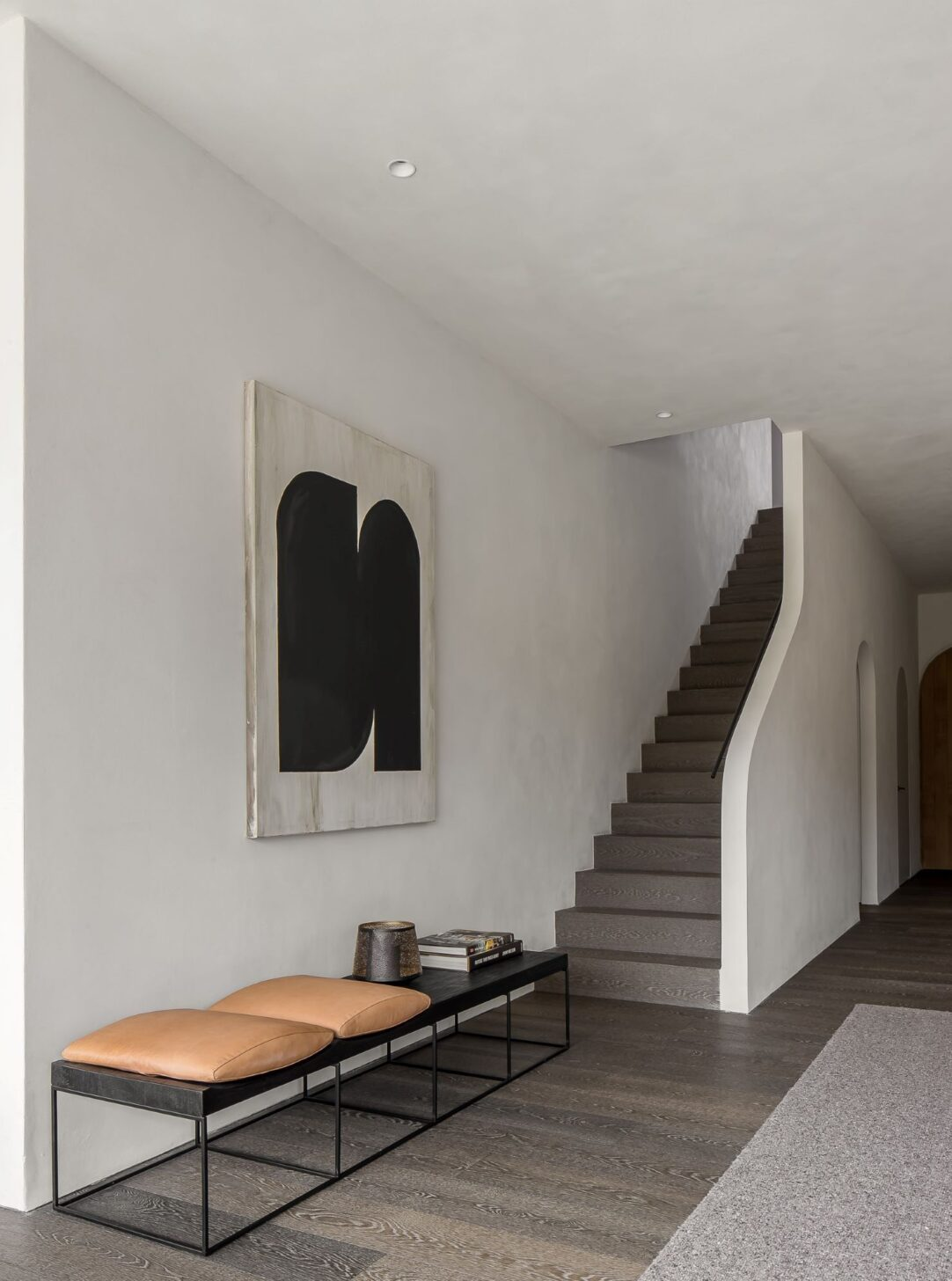 LONDON HIGHGATE with staircase