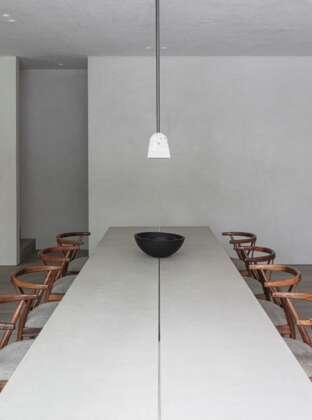 LONDON BARBICAN dining room landscape