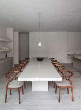 LONDON BARBICAN dining room