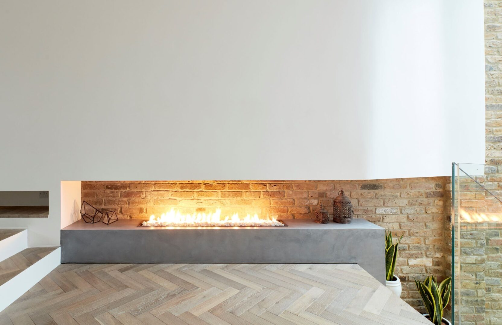 Tate bute herringbone floor with fire place by scenario architecture image by M Clayton3