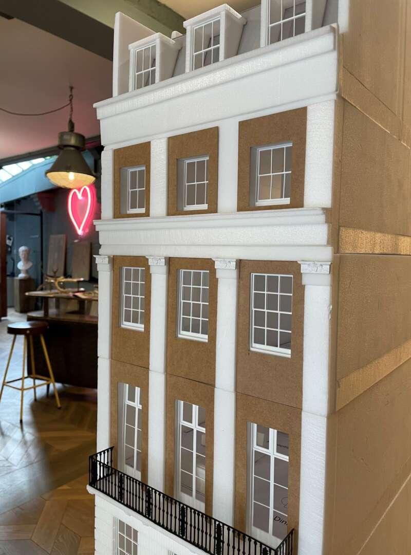 Belgravia town house model 1
