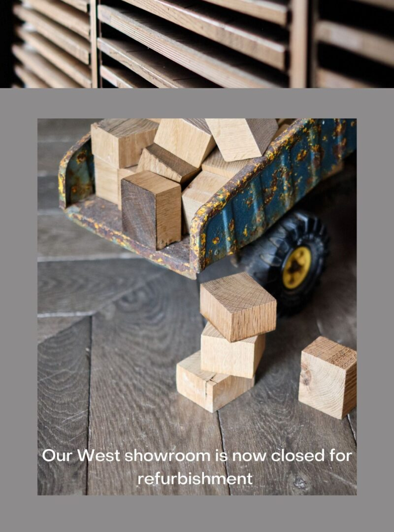 West showroom closed for refurbishment