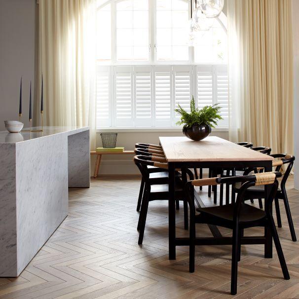 Oak Chevron Dyrham kitchen1 Banda Property