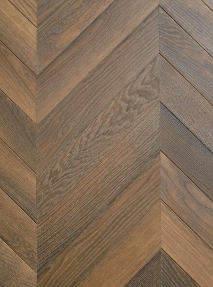 Engineered oak chevron flooring landmark scotney