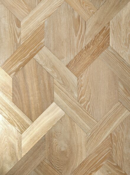 Oak landmark saltram engineered parquet flooring in mansion weave pattern