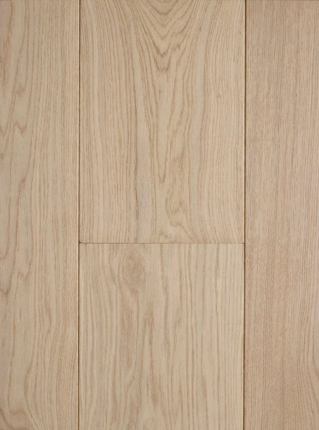 Oak polar white plank