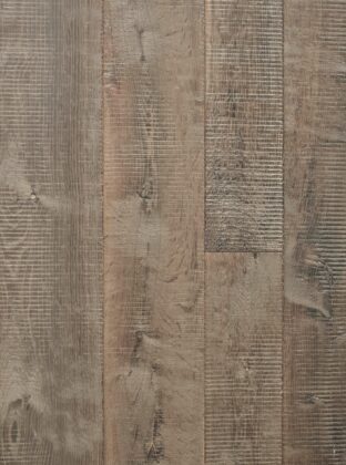 oak citadel grey textured floor with bandsaw marks