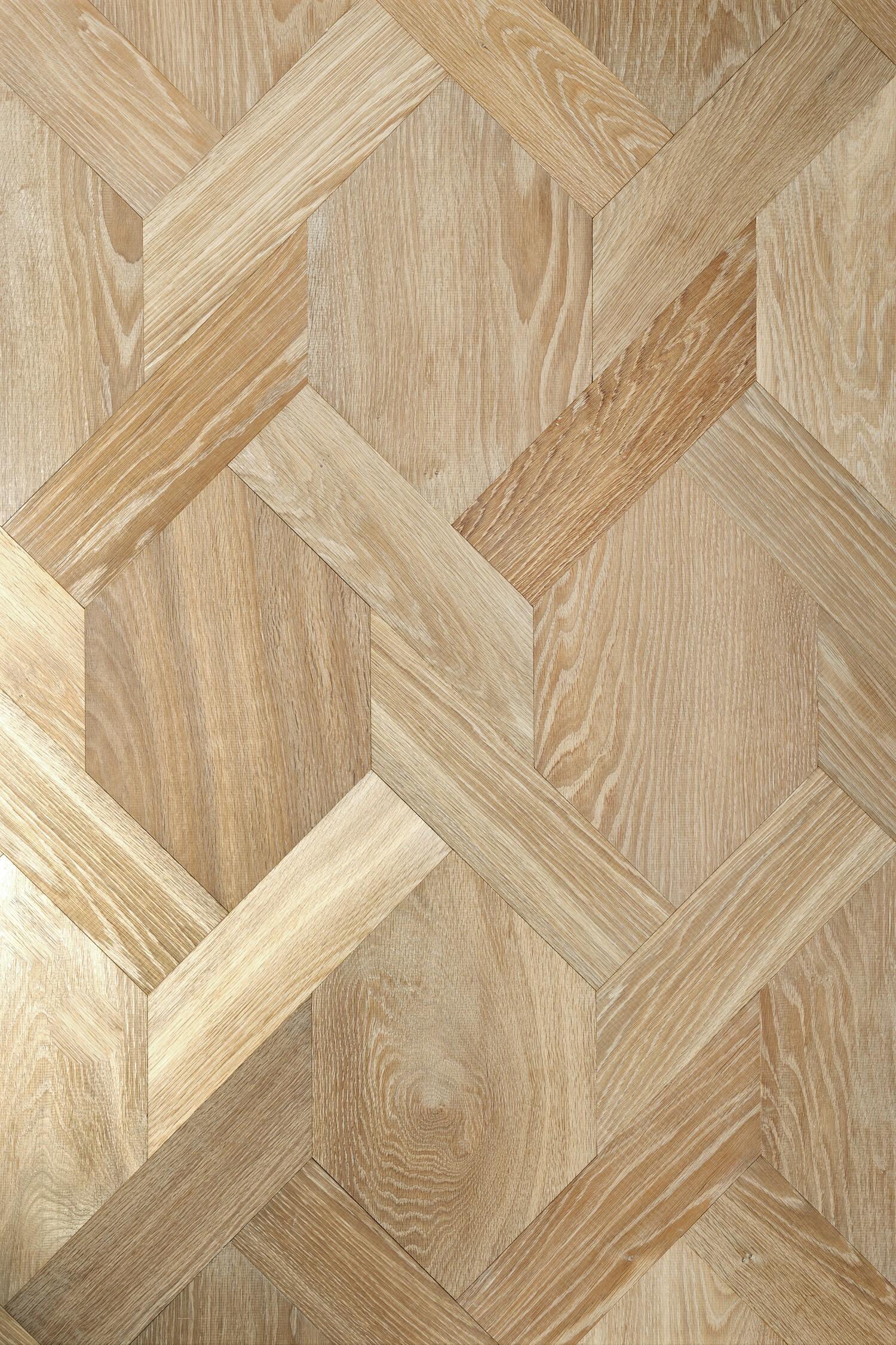 Oak landmark saltram engineered parquet flooring in mansion weave pattern