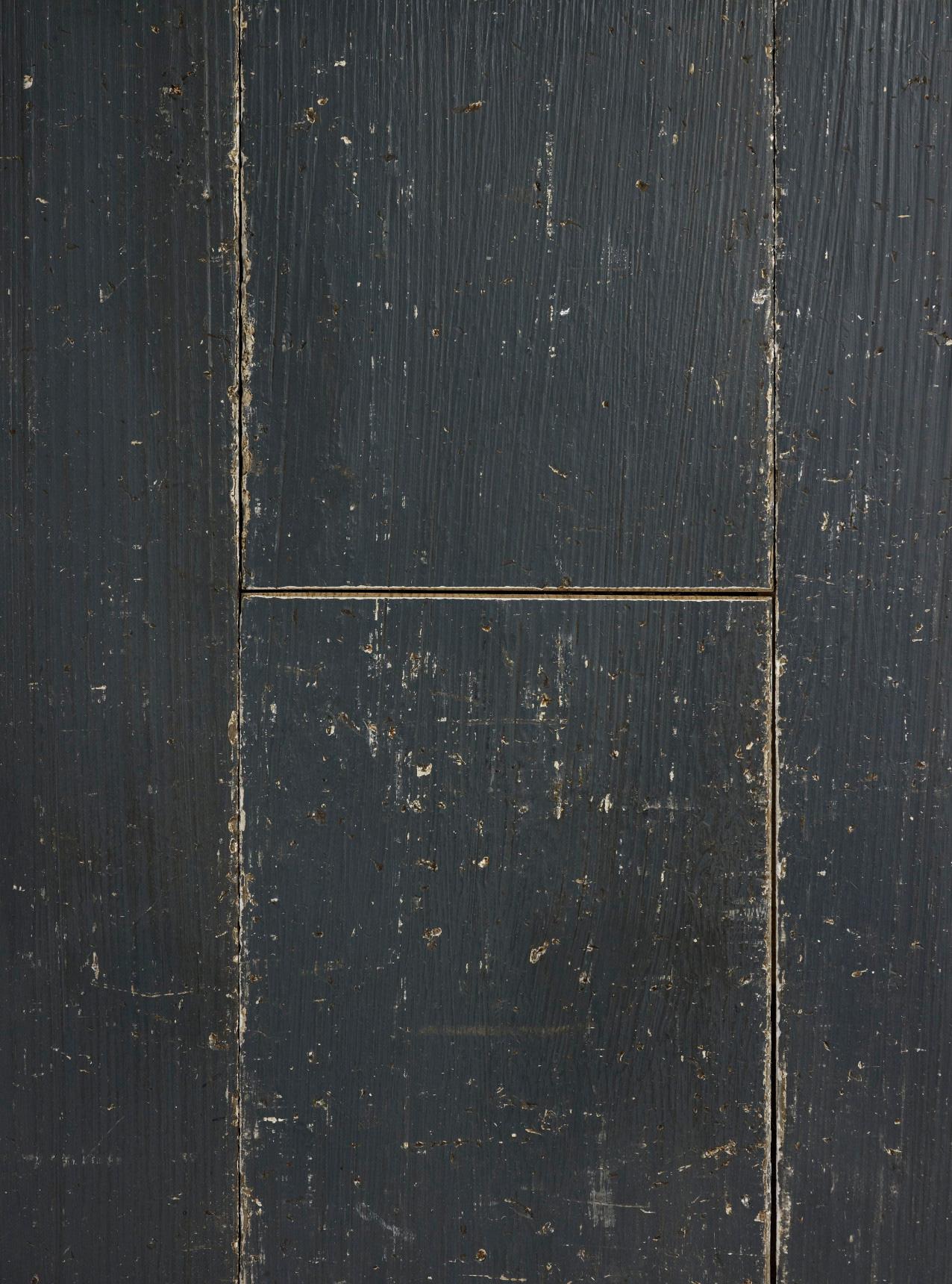 Oak shabby chic midnight blue plank
